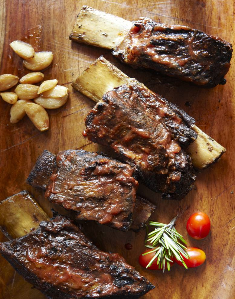 how to cook marinated beef back ribs in the oven