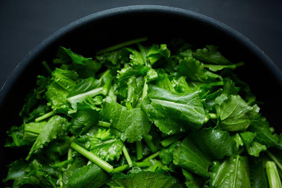 Chopped Turnip Greens