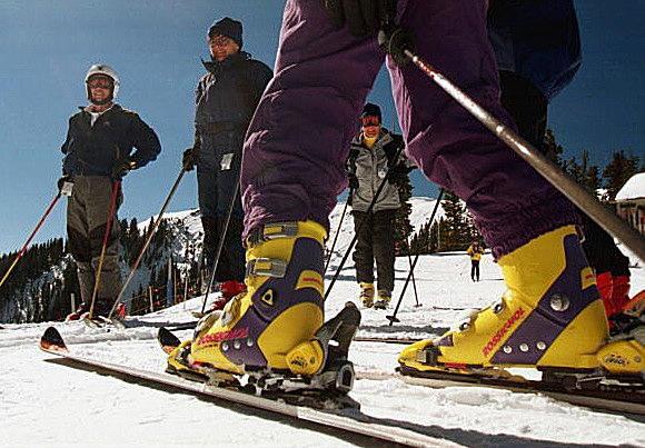 Winter Skiing