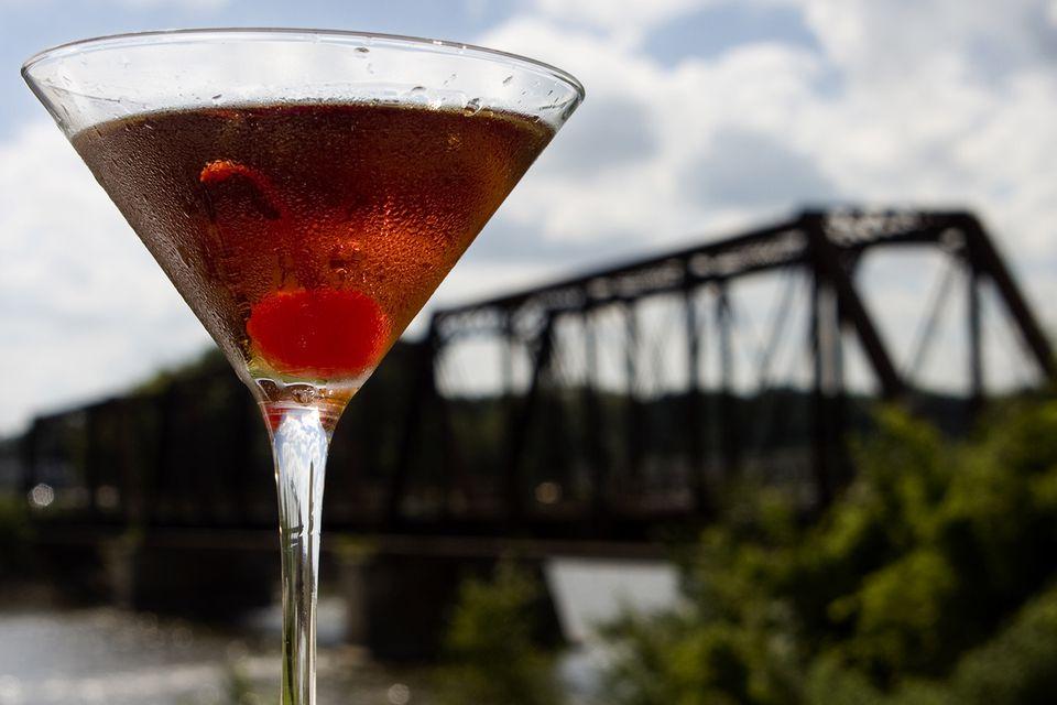 Canadian Club Manhattan Cocktail