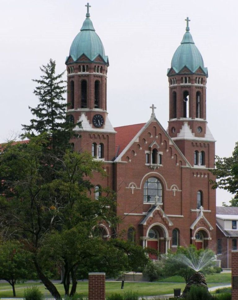 Chapel at Saint Joseph's College in Indiana