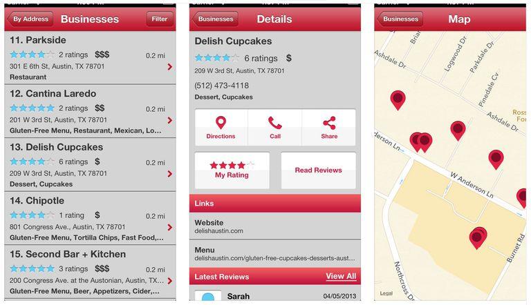 find me gluten-free app