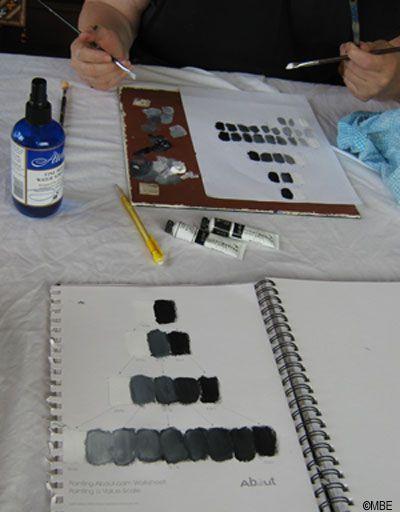 Tone painting worksheet