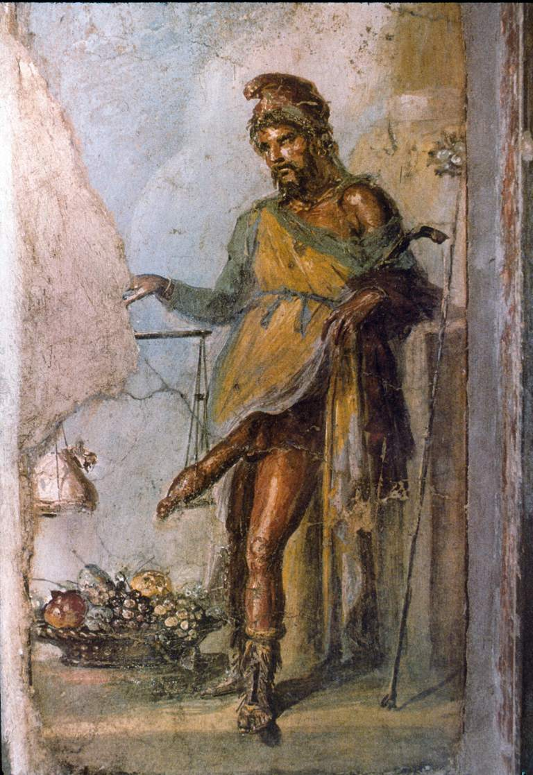The god Priapus