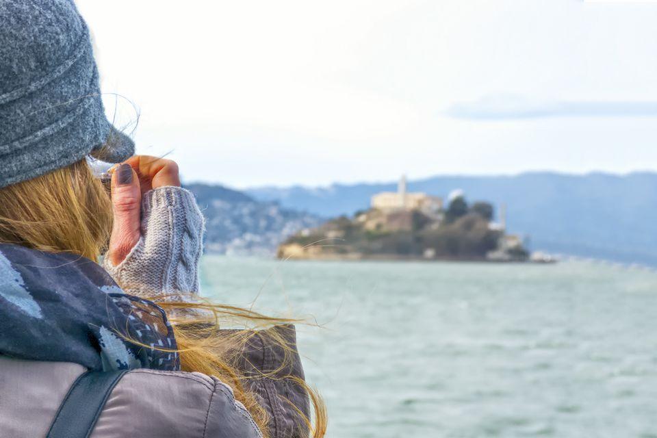 Taking Photos of Alcatraz
