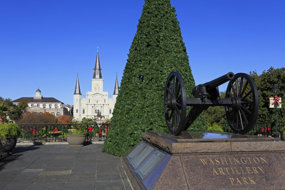 Washington Artillery Park, French Quarter
