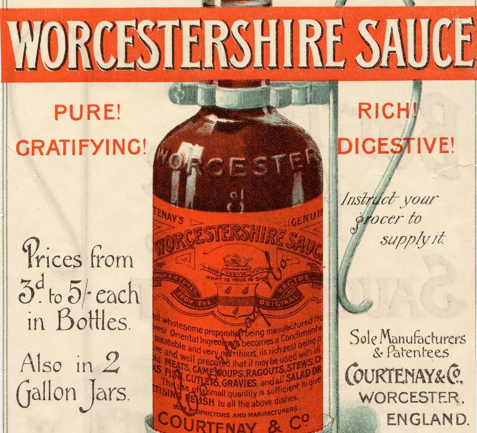 worcestershire sauce history condiment recipes receipt