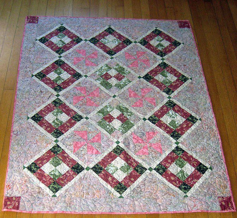 Dawn's Light Baby Quilt Pattern
