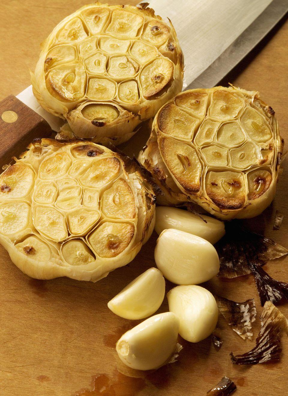 Roasted Garlic Marinade