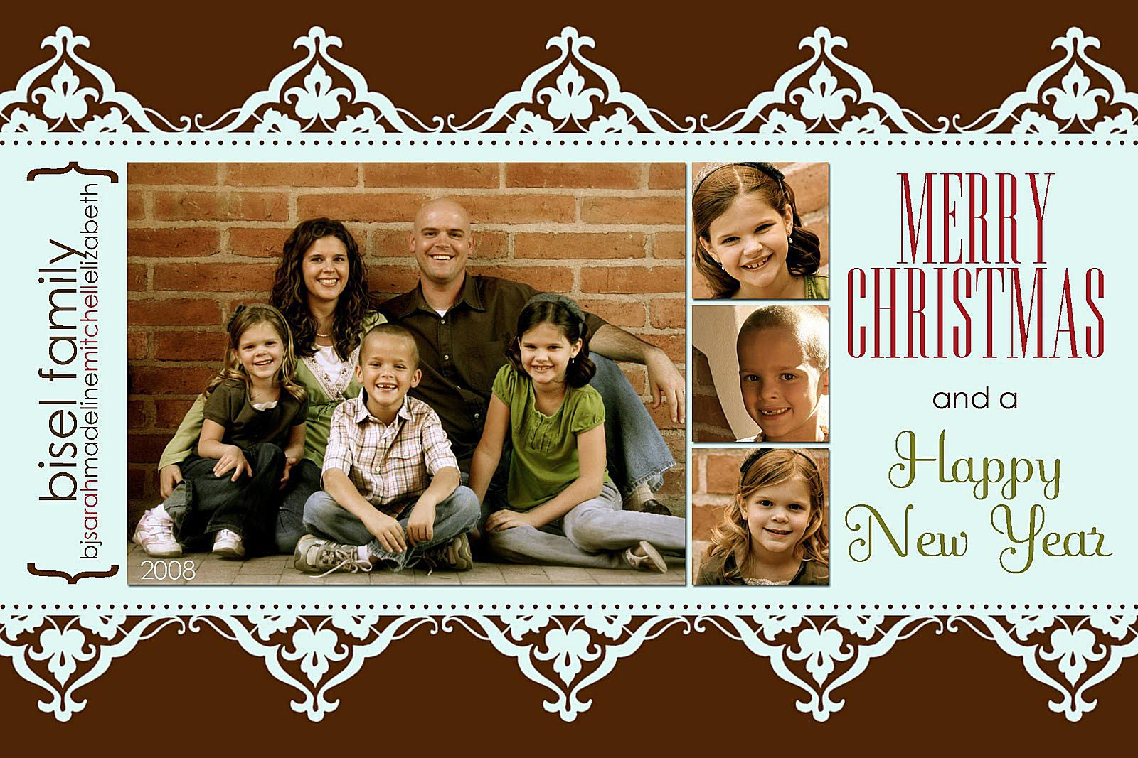 41 free christmas card templates for photo cards pronofoot35fo Image collections