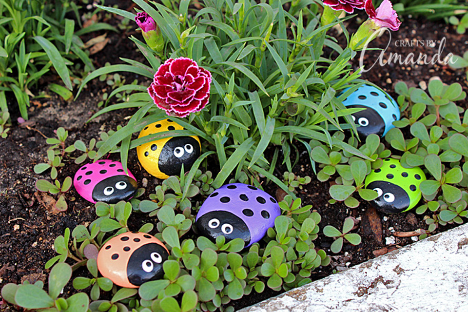 Cute and simple gardening crafts for kids for Garden crafts for toddlers