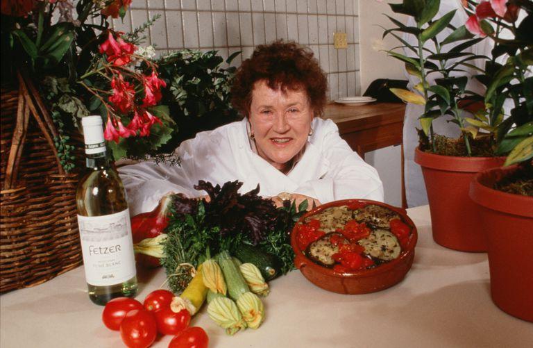 Chef Julia Child Portrait Session