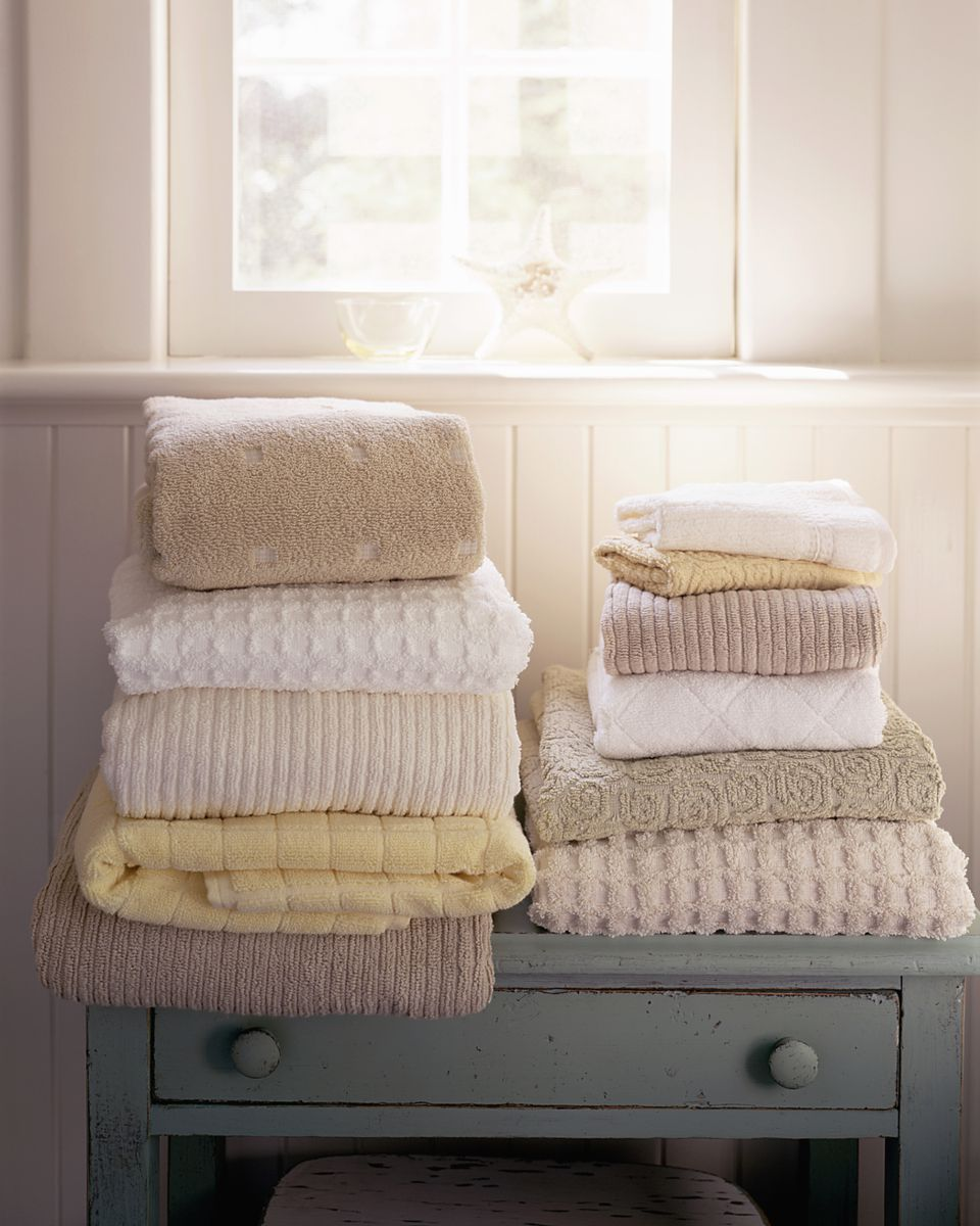 Stacks of Towels