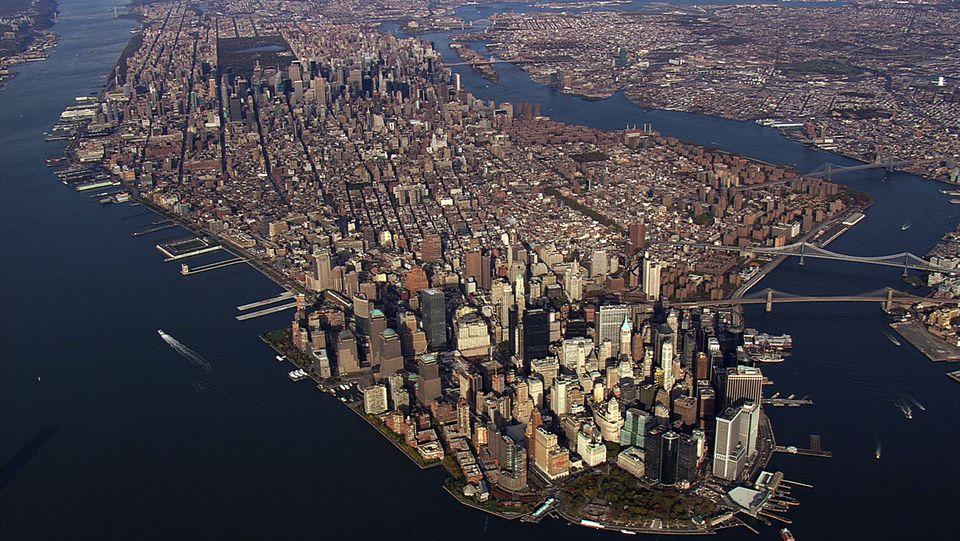Aerial America - Manhattan