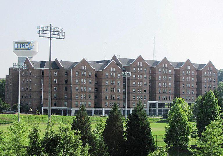 UNCG University of North Carolina at Greensboro Photo Tour