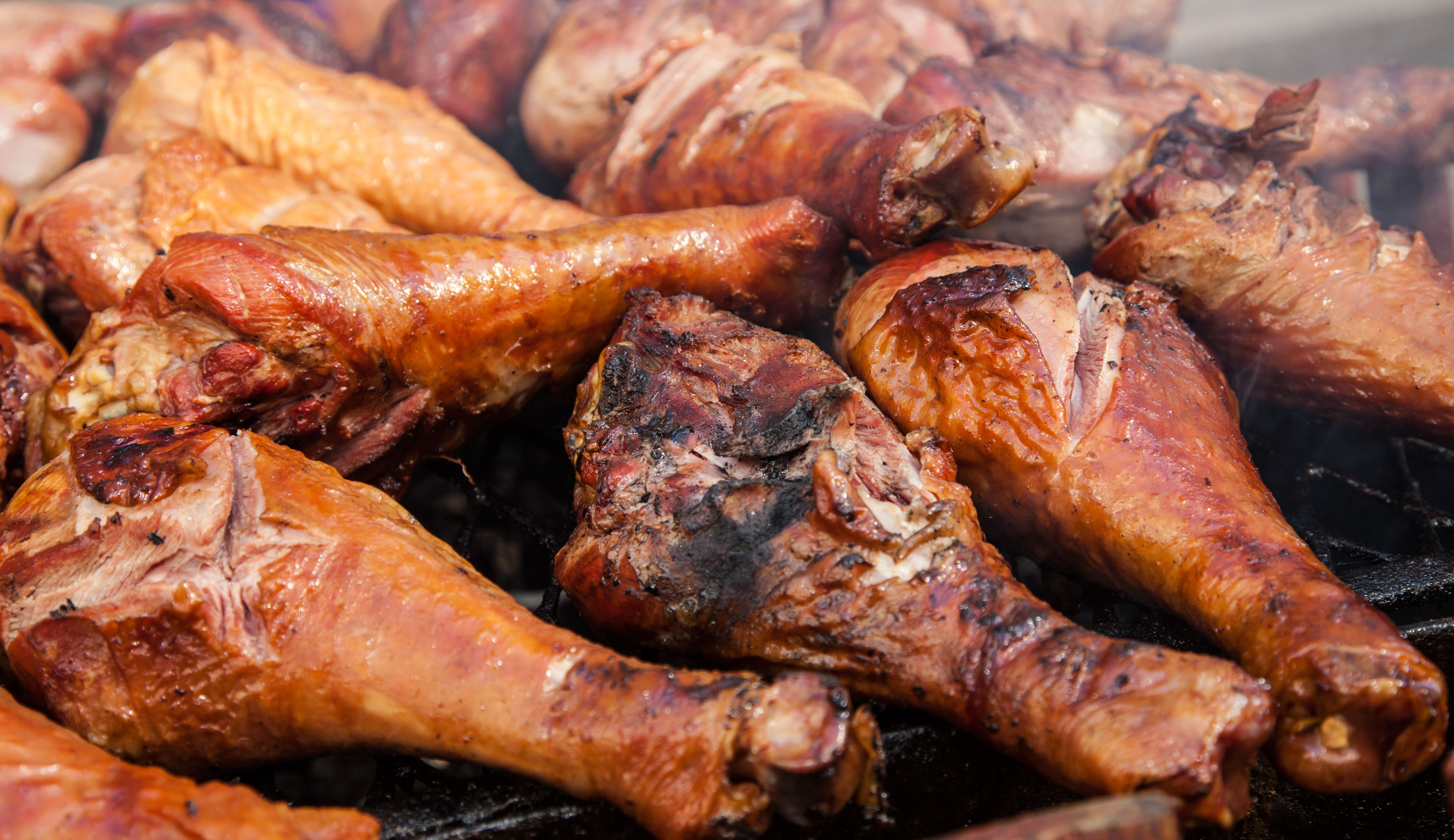 How To Grill Turkey Legs