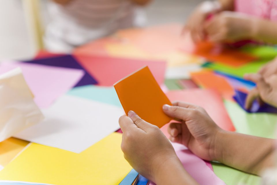 Paper Folding Activities for Kids