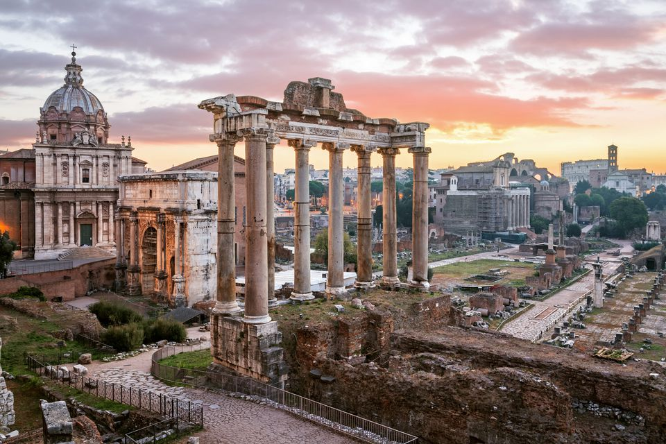 Rome offers many historic treasures.