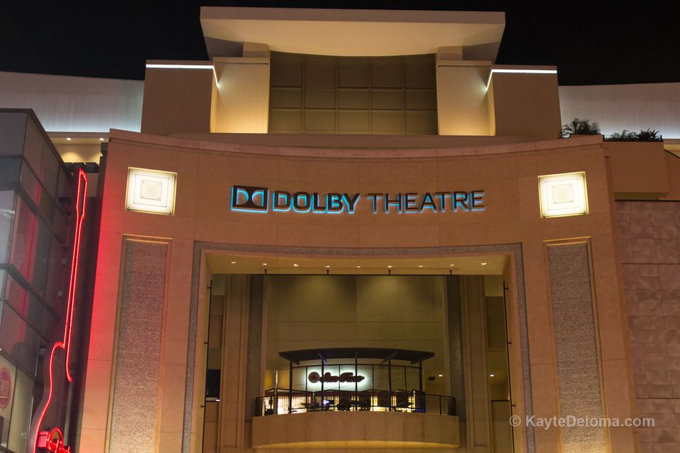 The Dolby Theatre in Hollywood