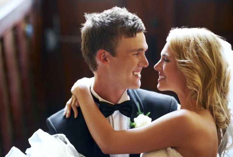 Pareja de recién casados