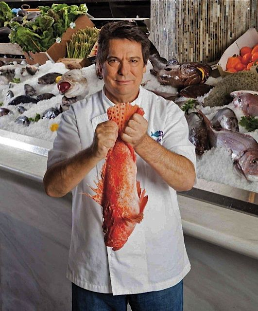 Costas Spiliadis, founder of the Milos restaurant empire
