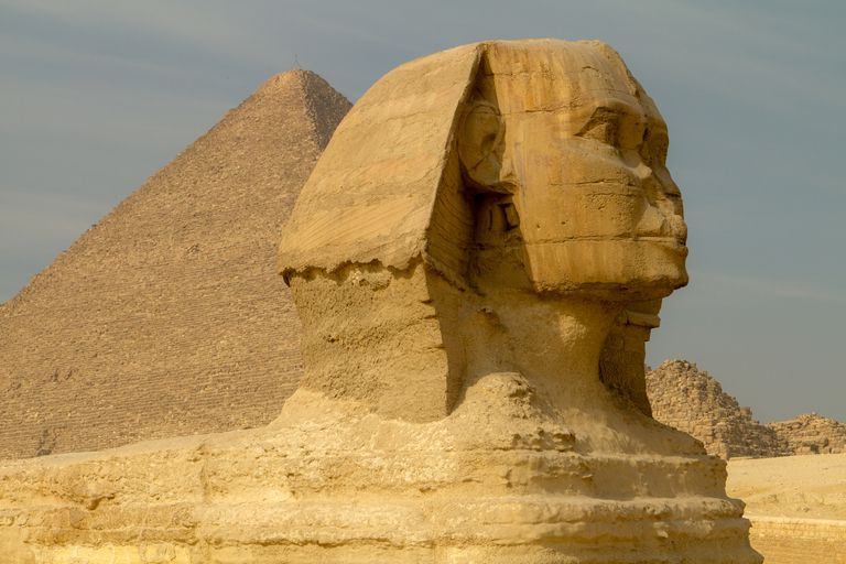The Sphinx - Site of the First Archaeological Excavation