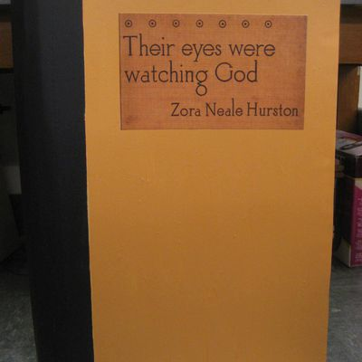 a womans quest for her own identity in their eyes were watching god by zora neale hurston Get this from a library their eyes were watching god [zora neale hurston mary helen washington henry louis gates, jr] -- fair and long-legged, independent and articulate, janie crawford sets out to be her own person--no mean feat for a black woman in the '30s.