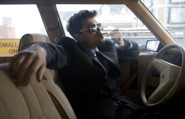Smoking Driver