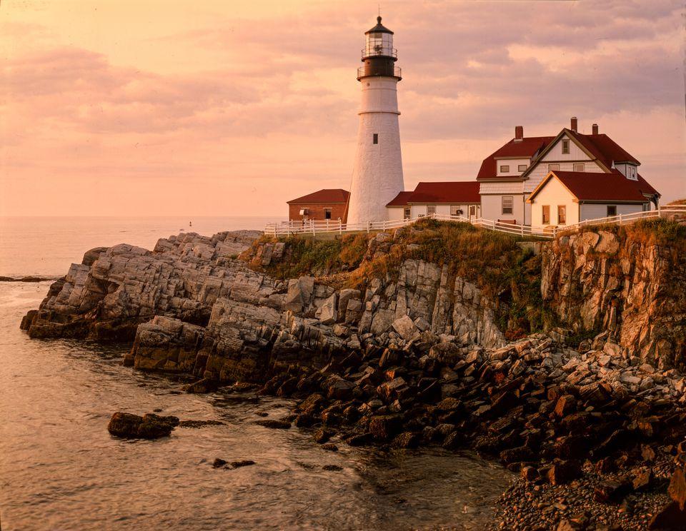 Cape Elizabeth, (Portland Head Light), Maine-3