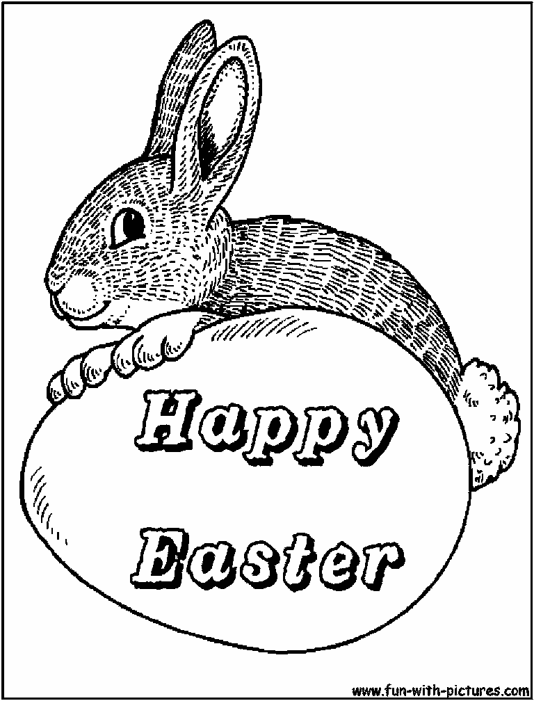 231 Free Printable Easter Bunny