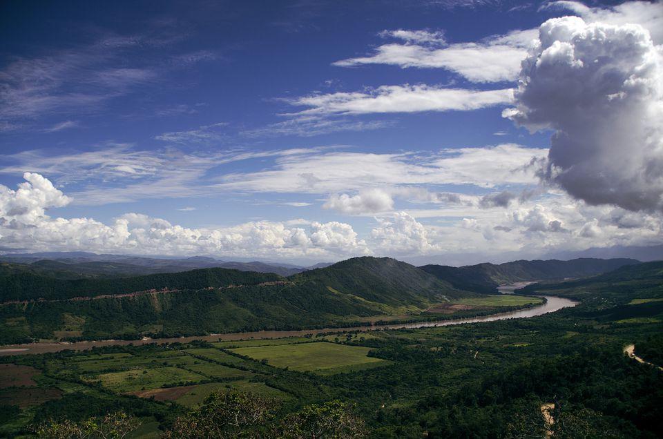 Valley of the Huallaga River