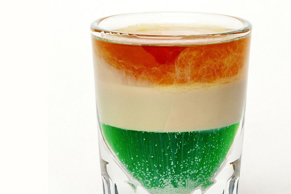 Irish Flag Shot Recipe