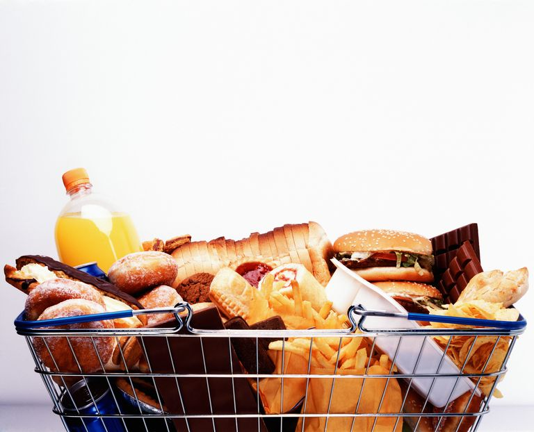 High-energy-density foods are high in calories.