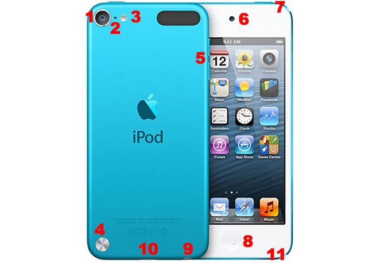 5th gen iPod touch hardware