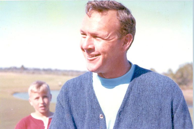Arnold Palmer at Bay Hill Club in 1965