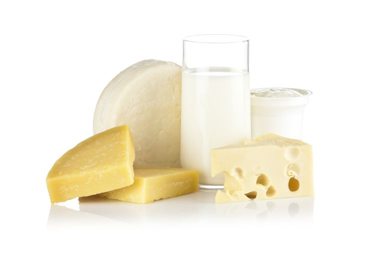 Eat more dairy products to get enough calcium.