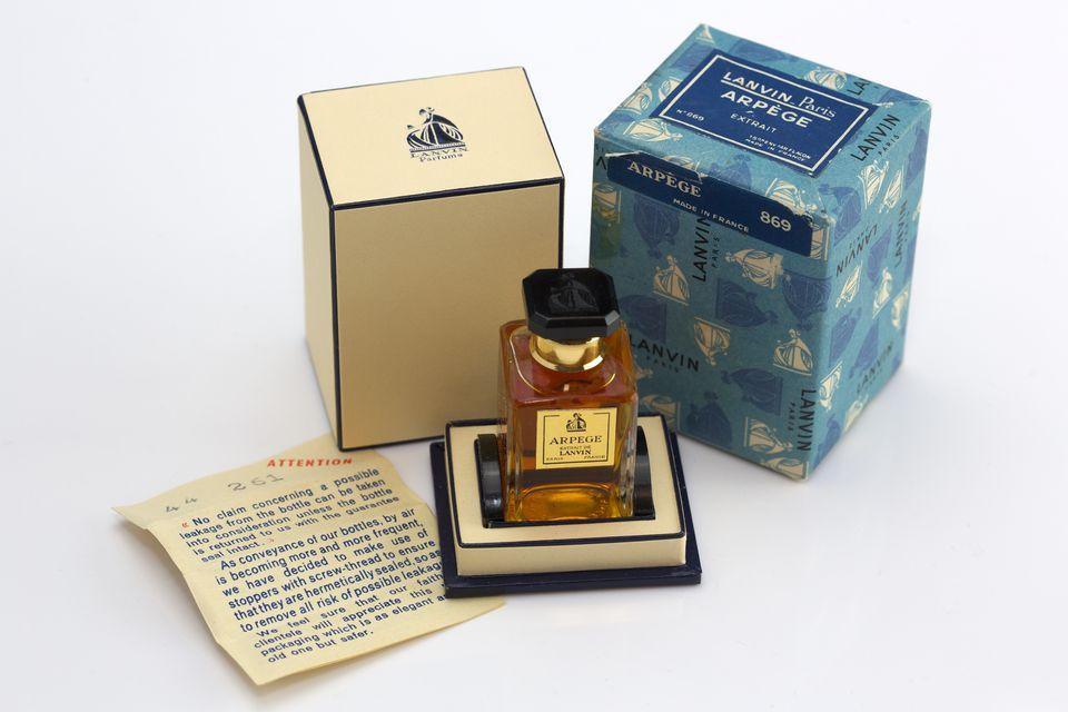 Vintage boxed set of Lanvin Arpege perfume
