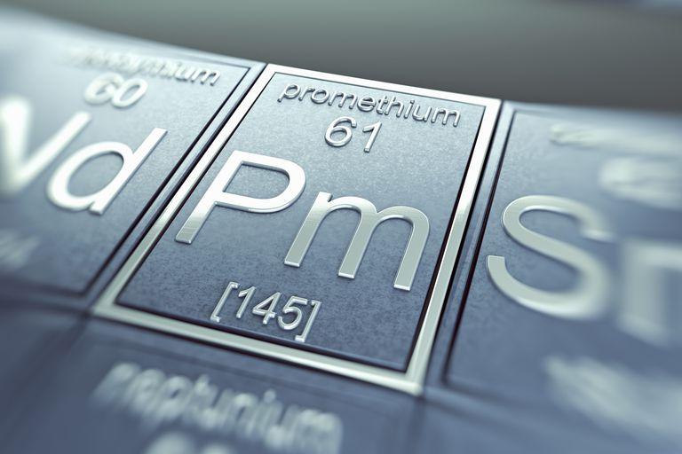 Promethium is a radioactive rare earth element.