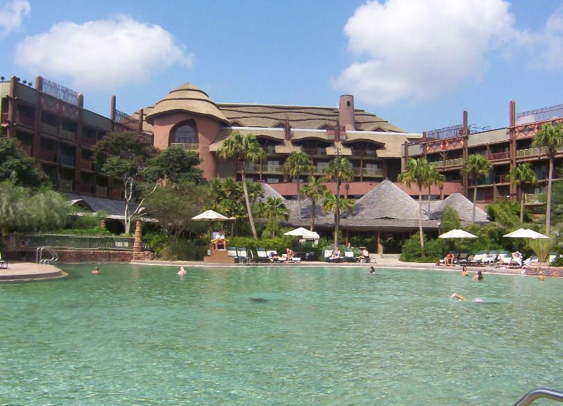 Photo of Animal Kingdom Lodge, © Teresa Plowright.