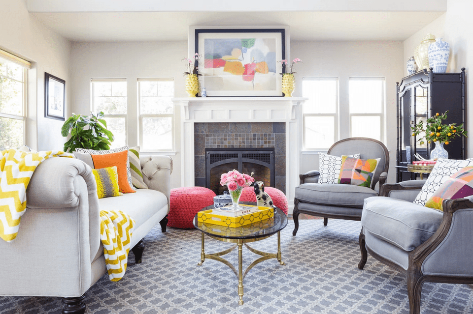 21 colorful living rooms to crave for Living room 94 answers