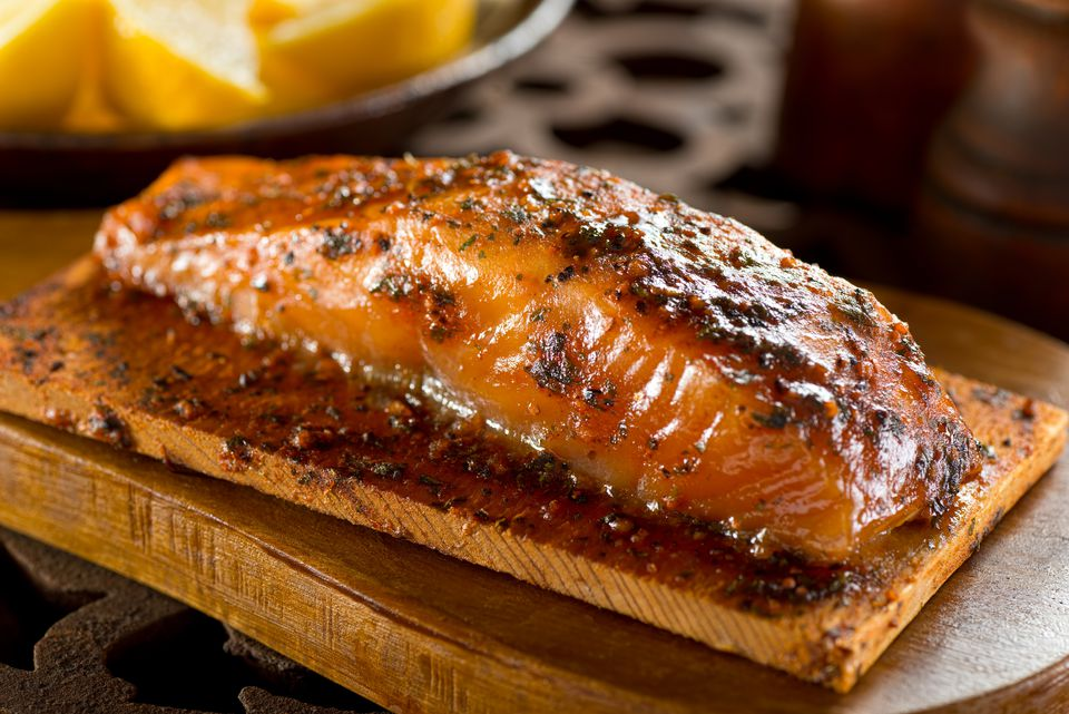 fish marinade on Salmon