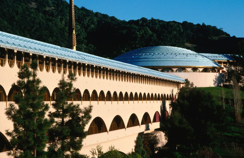 Marin City Civic Center by Frank Lloyd Wright in San Rafael, San Rafael, California, United States of America, North America