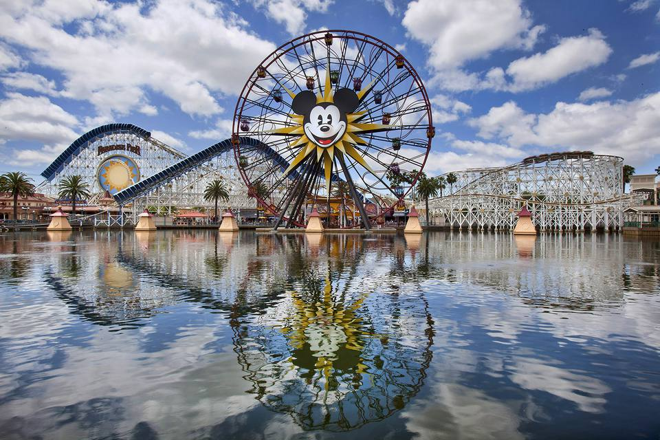 Paradise Pier at California Adventure