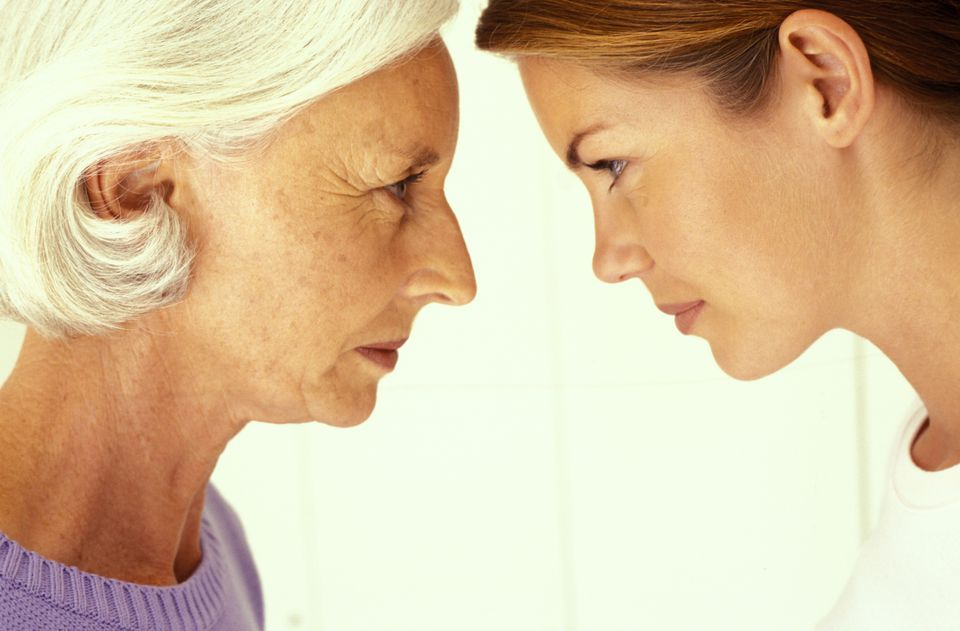 Family conflict can lead to grandparents being cut off from grandchildren.