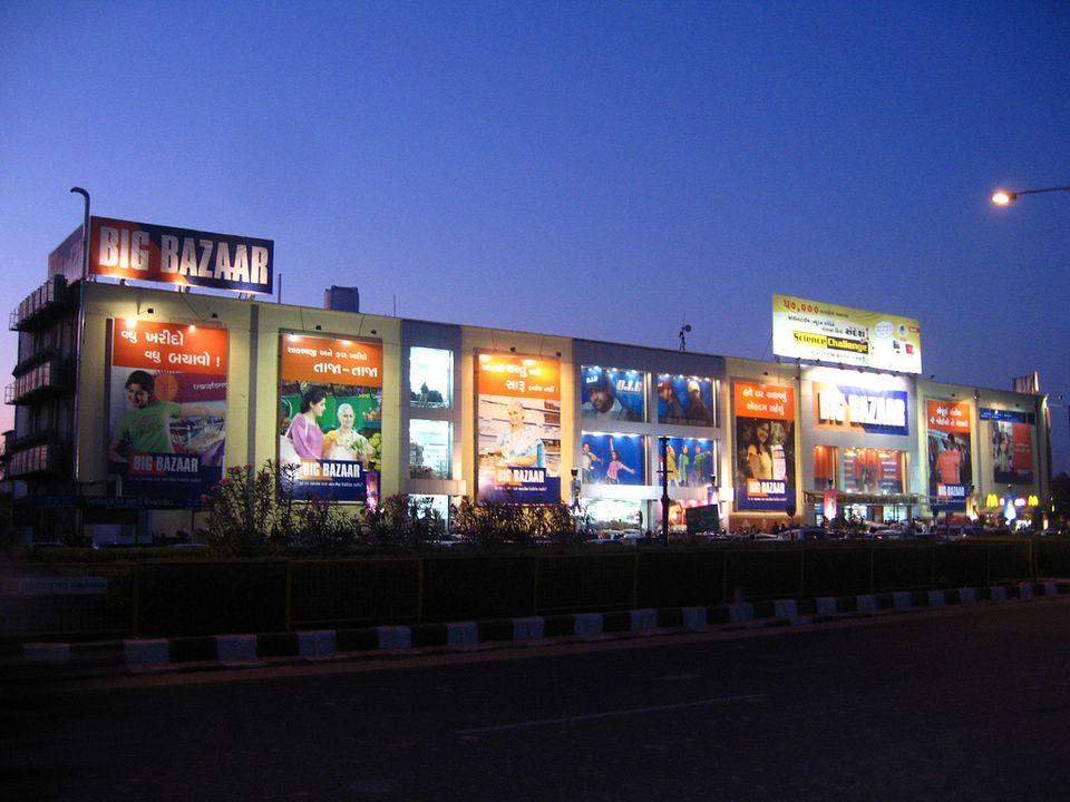 A Big Bazaar outlet in India.