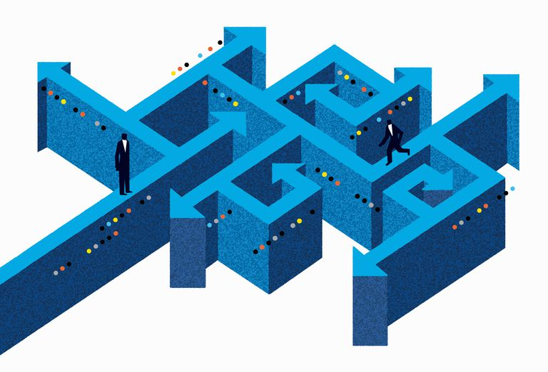 Career change can be like a maze