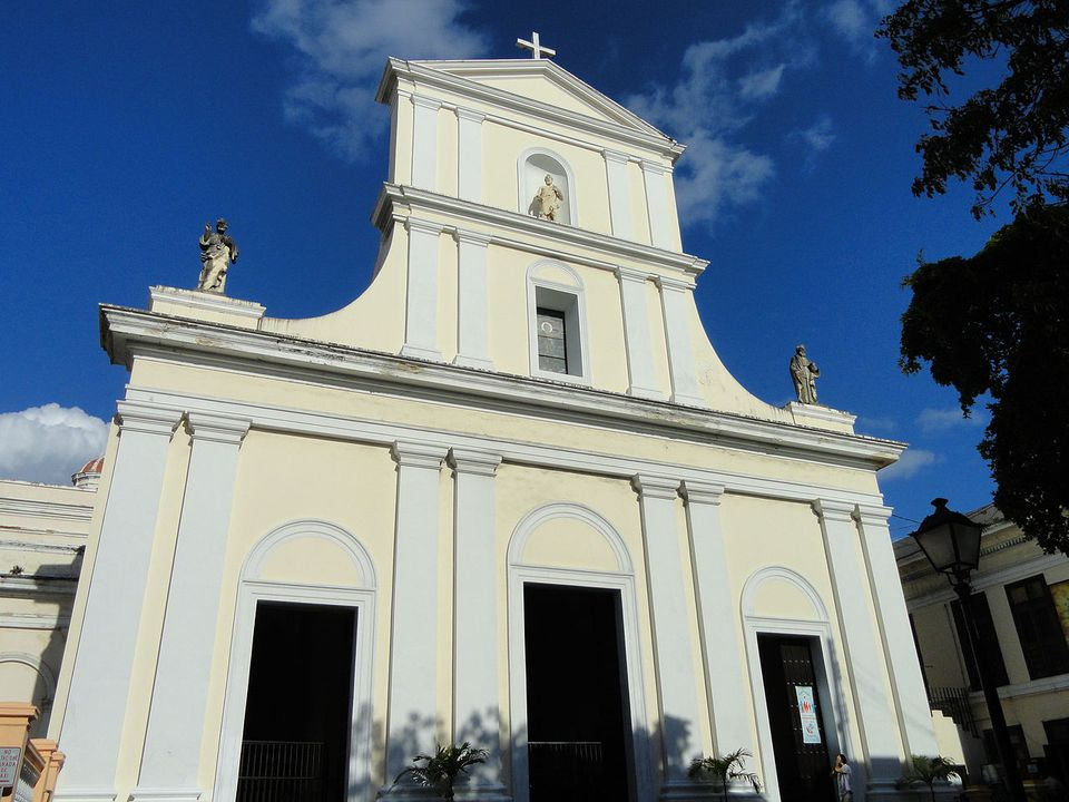 The Cathedral of Saint John the Baptist in San Juan, Puerto Rico