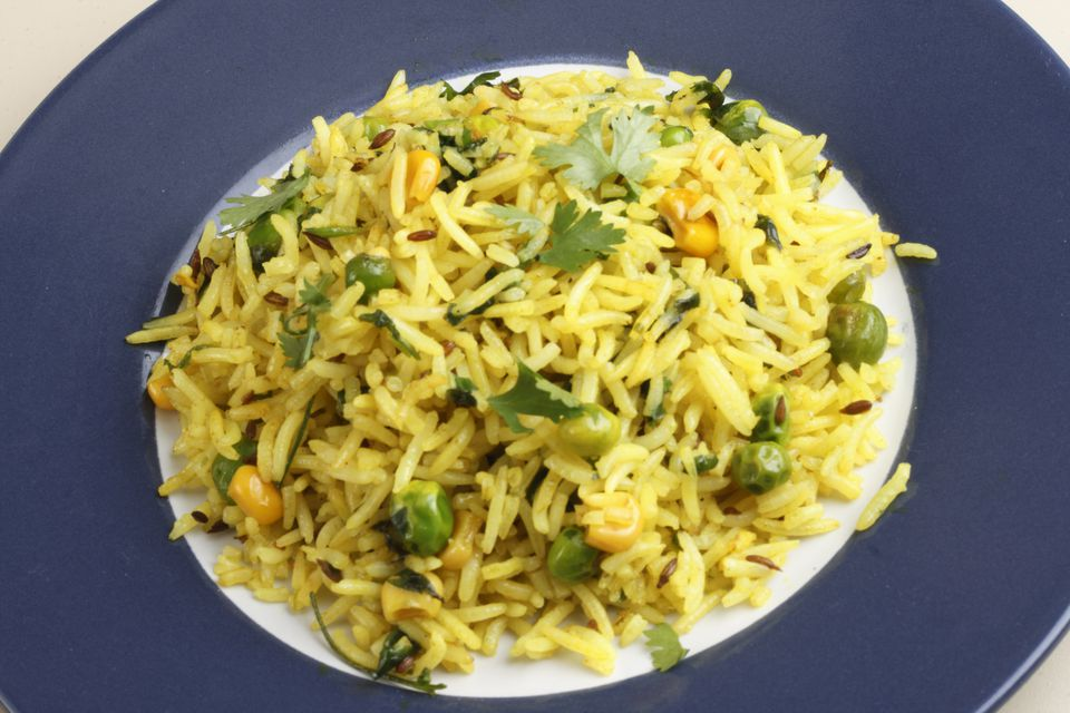 Easy to cook indian recipes for beginners matar pulao a preparation of rice and peas forumfinder Images