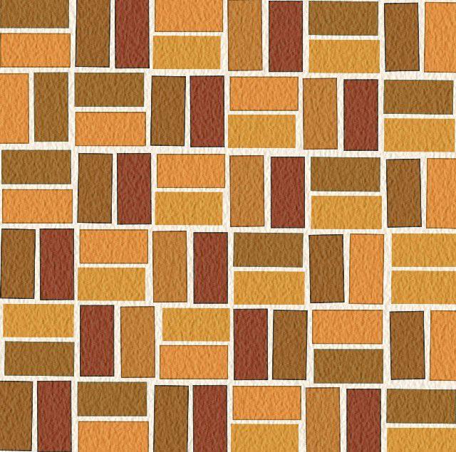Basketweave brick pattern. Illustration by Thom Taylor