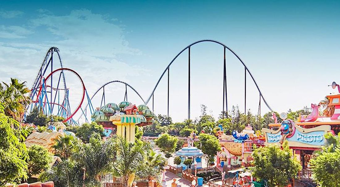 PortAventura - Spain Theme Park Featuring Ferrari Land